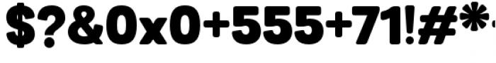 Grota Sans Rounded Alt Black Font OTHER CHARS