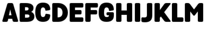 Grota Sans Rounded Alt Black Font UPPERCASE