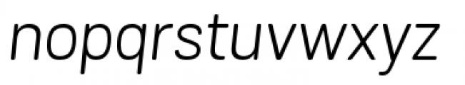 Grota Sans Rounded Alt Book Italic Font LOWERCASE