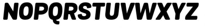 Grota Sans Rounded Alt Heavy Italic Font UPPERCASE