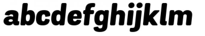 Grota Sans Rounded Alt Heavy Italic Font LOWERCASE