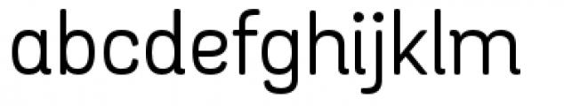 Grota Sans Rounded Alt Regular Font LOWERCASE