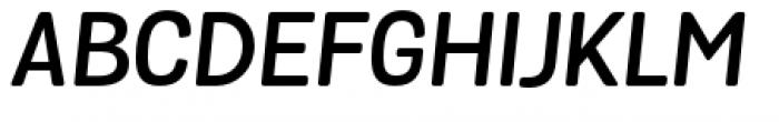 Grota Sans Rounded Alt Semi Bold Italic Font UPPERCASE