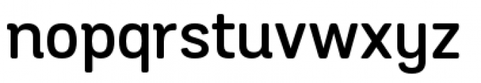 Grota Sans Rounded Alt Semi Bold Font LOWERCASE