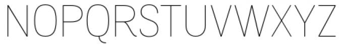 Grota Sans Rounded Alt Thin Font UPPERCASE