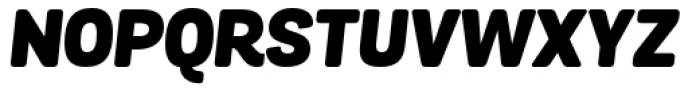 Grota Sans Rounded Black Italic Font UPPERCASE