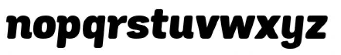 Grota Sans Rounded Black Italic Font LOWERCASE
