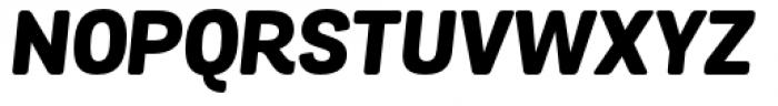 Grota Sans Rounded Extra Bold Italic Font UPPERCASE