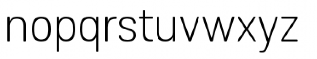 Grota Sans Rounded Light Font LOWERCASE