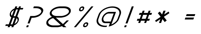 GRACETIANS Italic Font OTHER CHARS