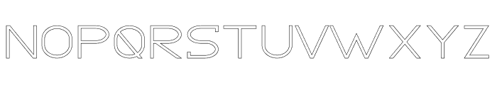 GRACETIANS Stroke Font LOWERCASE