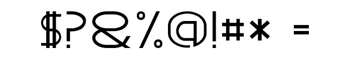 GRACETIANS Font OTHER CHARS