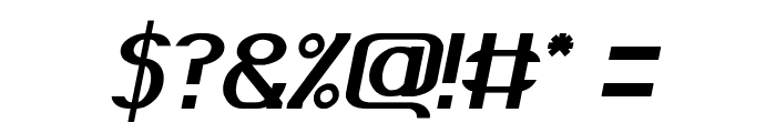 GRAND PRIX Italic Font OTHER CHARS