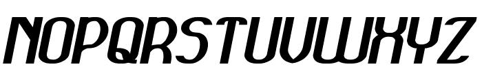GRAND PRIX Italic Font UPPERCASE