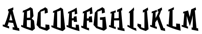 GRASS Font UPPERCASE