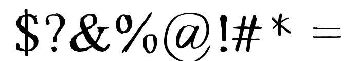 GRECOromanLubedWrestling Font OTHER CHARS