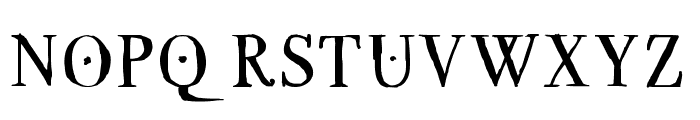GRECOromanLubedWrestling Font UPPERCASE