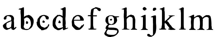GRECOromanLubedWrestling Font LOWERCASE