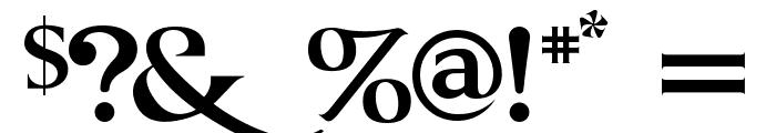 GRENDEL BOLD Font OTHER CHARS