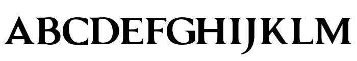 GRENDEL BOLD Font UPPERCASE