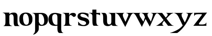 GRENDEL BOLD Font LOWERCASE