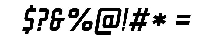 GROTESKIA-OBLIQUE Font OTHER CHARS