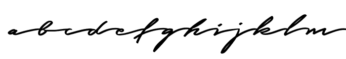 Graced Script PERSONAL USE Font LOWERCASE