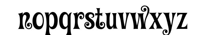 Graceful Mazurka Font LOWERCASE