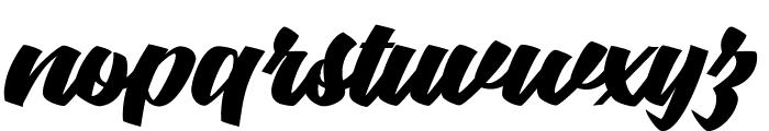 Graceland Personal Use  Font LOWERCASE