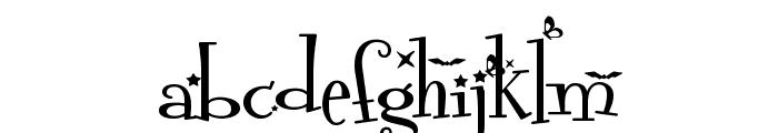 Grachi 2 Font LOWERCASE