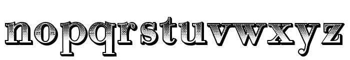 Gradientico Regular Font LOWERCASE