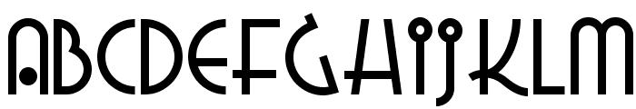 Grado Gradoo NF Font UPPERCASE