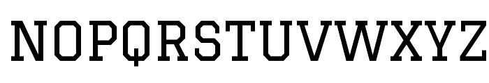 Graduate Font UPPERCASE