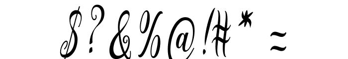Graf Call free Regular Font OTHER CHARS