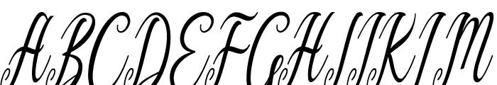 Graf Call free Regular Font UPPERCASE