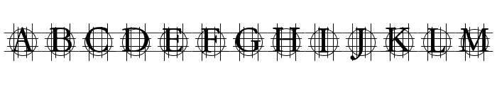 GrafBold Bold Font UPPERCASE
