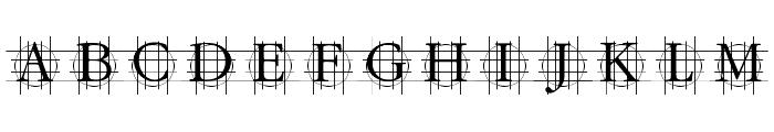 GrafCirculum Font UPPERCASE