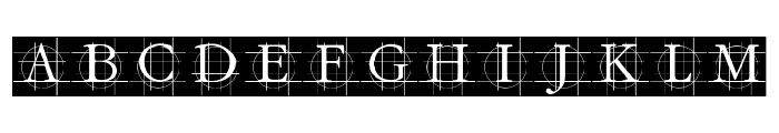 GrafCirculumBricks Font UPPERCASE