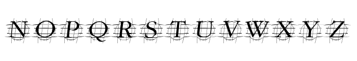 GrafOblique Italic Font UPPERCASE