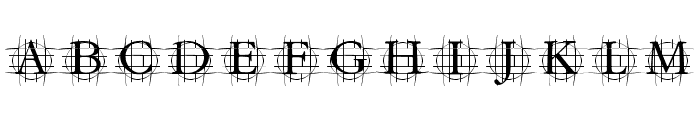 GrafRoundish Medium Font UPPERCASE