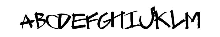 GraffCaps Font LOWERCASE