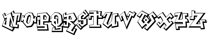 GraffitiTreat-Regular Font LOWERCASE