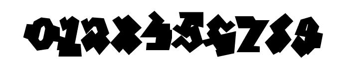 GraffitiTreatBack-Regular Font OTHER CHARS