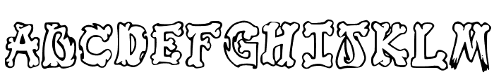 Graffiti_in_my_Bones Font UPPERCASE