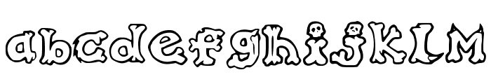 Graffiti_in_my_Bones Font LOWERCASE