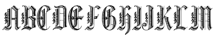 Grafik Text Font UPPERCASE