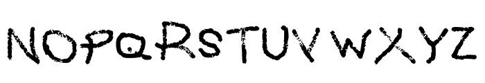 Grafipaint Font UPPERCASE
