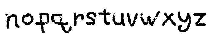 Grafipaint Font LOWERCASE
