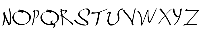 Grafitrk Font UPPERCASE