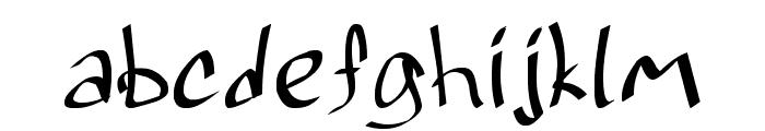 Grafitrk Font LOWERCASE